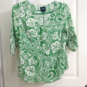 Anthropologie Maeve Sz M Top